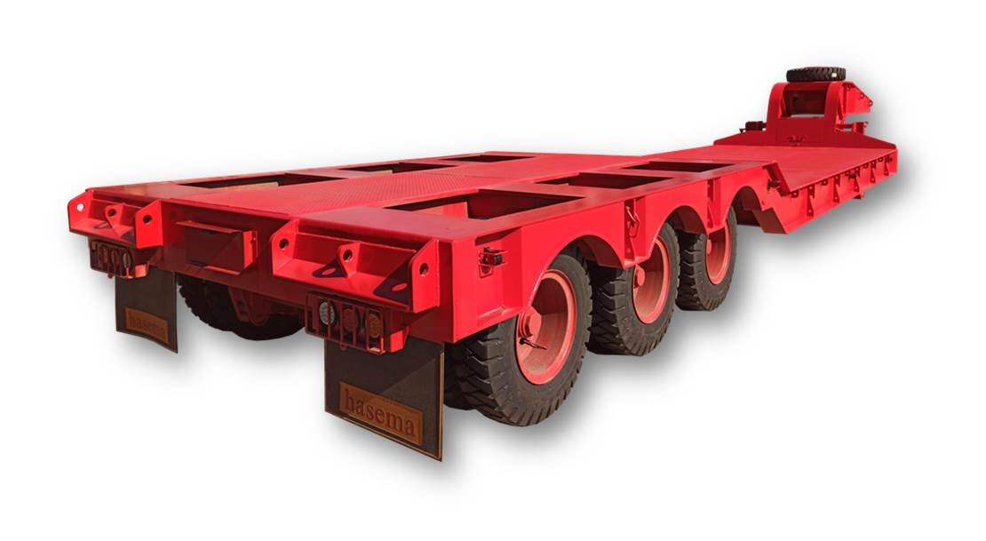 Lowbed Trailer 50T, hasema