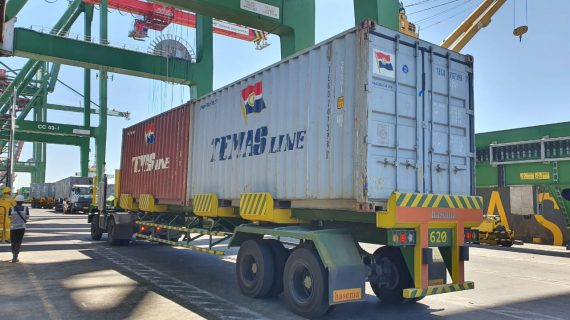 PORT CONTAINER TRAILER 45 FT